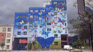 Mural Sinfonia de Vida -Nelson Roman Pintor Ecuatoriano